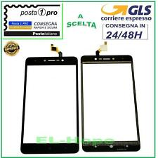 TOUCH SCREEN VETRO WIKO LENNY 4+ PLUS DIGITIZER VETRINO NERO 5.5''