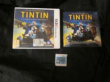 3DS : LE AVVENTURE DI TINTIN : IL SEGRETO DELL'UNICORNO - Completo, ITA! Tin Tin