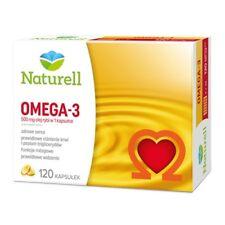 OMEGA-3 Naturell 120 kaps. odporność serce mózg immunity heart DHA