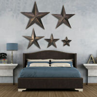 Retro Metal Barn Star Rustic Country Wall Hanging Home Garden Cafe Hotel Decor
