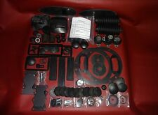 Molded Rubber Kit Deluxe 73 pc - Jaguar, XKE Series I