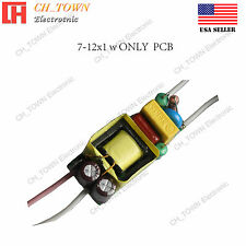 7-12X1W Constant Current High Power Supply LED Driver For Light DC 20-42V 0.3A