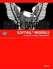 Harley Davidson 2018 Softail Models Service & Electrical Diagnostic Manual