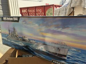 TRUMPETER  # 03708   1/200th SCALE HMS NELSON WW2 SHIP MODEL KIT