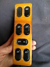 Wood Veneer SAAB 900 4 Door With Sunroof Power Window Switch classic 91-93