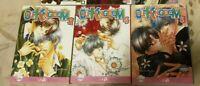 Lot of 8 Yaoi Manga by Naduki Koujima English