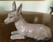 "Lladro Nativity Donkey 7"" Mule # 310"