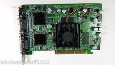 Matrox QID-QDA8X128 AGP 4x/8x 1dms-59 not dvi quad display Adapter video card