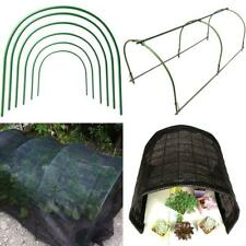 More details for vkty 6-pack greenhouse hoops for netting,plastic coated support hoops for vegeta