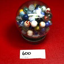 Lot of 120 Plus ESTATE SALE FIND Vintage & Antique Glass Marbles ,Shooters & jar