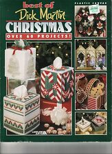 Plastic Canvas Book ~ Best of Dick Martin Christmas ~ Over 60 projects ~ USED