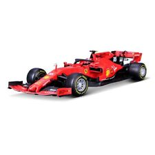 Burago 2019 Ferrari SF90 No.16 Charles Leclerc F1 Car Modle RED 1/18