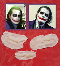 Joker Scars Prosthetic Appliances Batman Dark Knight Heath Ledger