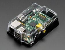 Adafruit Pi Case Clear Enclosure for Raspberry Pi Model A or B Glossy Cover