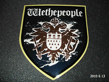 1 AUTHENTIC WETHEPEOPLE BMX BICYCLES LARGE SHIELD STICKER / DECAL #10 AUFKLEBER