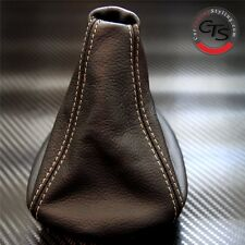BMW E46 1998-2005 M3 SPORT BEIGE STITCH QUALITY LEATHER GEAR SHIFT BOOT GAITER