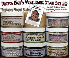 Weathering Stain Set #2-Doctor Ben's Fine Scale FSM FLOQUIL REPLACEMENTS! HOn3