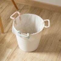Trash Can Bag Lock Clips Grabber Handle Wastebasket Rubbish Garbage Bin Holder