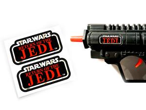 CUSTOM STICKERS for Kenner Star Wars ROTJ Biker Scout Laser Pistol Blaster