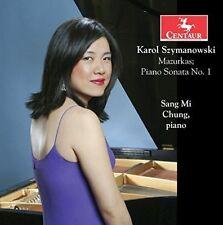KAROL SZYMANOWSKI: MAZURKAS; PIANO SONATA NO. 1 NEW CD