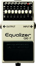 Boss GE-7 GE7 Equalizer Pedal New