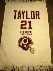 New Sean Taylor Washington Redskins Rally Memorial Towel.