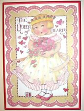 The Queen Of Hearts * Vintage Mary Engelbreit Colorplak * Collectible Wall Decor