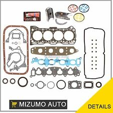 Fit 92-01 Suzuki GEO Chevrolet 1.6 G16KV Full Gasket Set Bearings Piston Rings