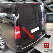 Protezione soglia carico cromata Toyota Proace II / Verso paraurti acciaio