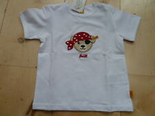 SO 17 - Steiff Poco Pirata Camiseta, blanco talla 80
