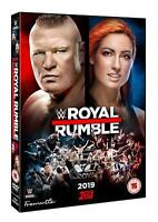 WWE Royal Rumble 2019 [2x DVD] *NEU* Deutsch Deutscher Kommentar