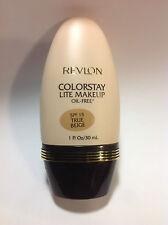 Revlon Colorstay Lite Oil Free Spf 15 Makeup Foundation True Beige 1 Oz / 30 Ml