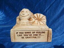 1974 Paula Figurine If You Wake Up Feeling Like You Had It Be Grateful W377