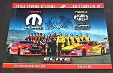 2016 Erica Enders-Stevens Elite Motorsports Pro Stock NHRA Autographed HANDOUT