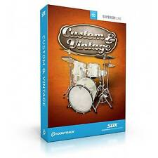 Toontrack SDX custom vintage drum software (serial download)