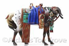 Breyer Horse - NIB 711118 Dances With Wolves - BreyerFest Porcelain Indian Tack