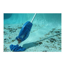Pool Blaster Blue Portable 10-in Handheld Vacuum Pool Maintenance Equipment