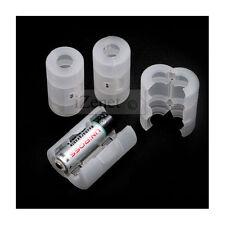 4 Adaptateur Pile AA Taille C Batterie Convertisseur