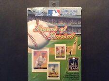 "Legends of Baseball  20 Jumbo Stamp-Image Postcards Mint ""MLB All Century team"""