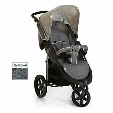 NEW HAUCK VIPER SLX 3 WHEEL PUSHCHAIR STROLLER SMOKE / GREY SUITABLE FROM BIRTH