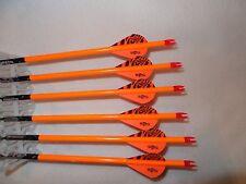 1/2 dozen Gold Tip Pro Hunter 7595/340 carbon custom arrows w/blazers!