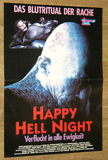 Happy Hell night Verflucht in alle Ewigkeit  Filmplakat Poster 30x42cm