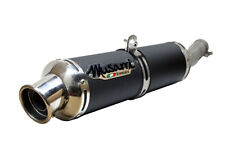 Triumph Tiger 800 / XC 2011-2012-2013 Musarri BLK Slip on Performance Exhaust