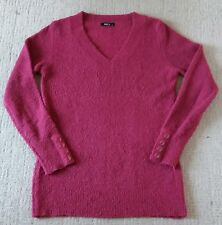 M&Co ladies womens pink boucle jumper size XS