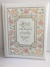 Hallmark Wedding Album Keepsake Album Vintage