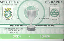SK RAPID SPORTING CLUBE PORTUGAL 19/10/1995