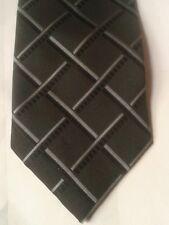 Thomas Nash black and grey polyester tie