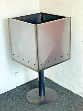 Fire cube, garden incinerator wast burner fire pit, DIY version available