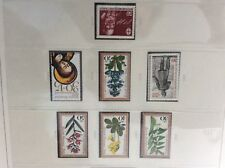 Berlin 1978    4 Sets  unmounted  mint stamps woodland flowers etc