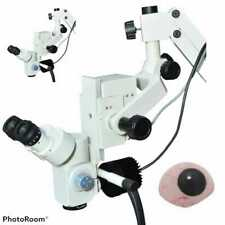 Ophthalmic Eye Operating Microscope 3 Step Magnification 90 Degree Free Shipping